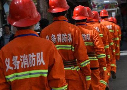 我公司在东风汽车公司襄阳基地第十一届义务消